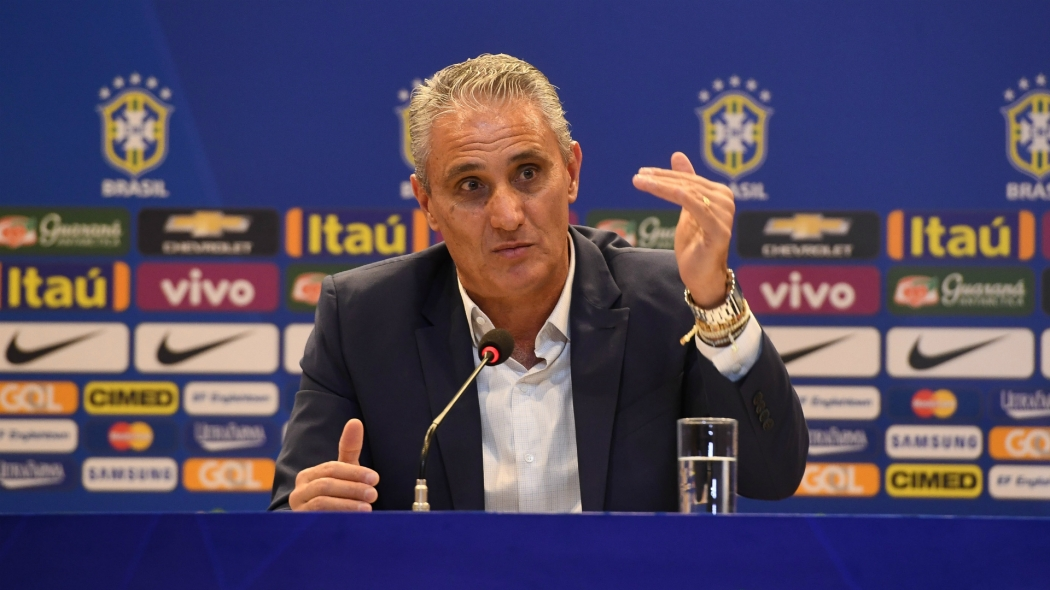 Tite convocou os 23 jogadores para a Copa. Crédito: Pedro Martins/Mowa Press