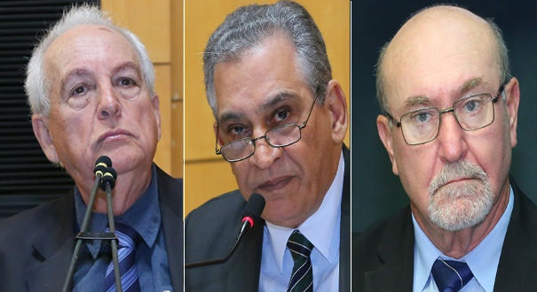 Esmeraldo, Enivaldo e Almir receberam R$ 1,245 milhão. Crédito: Tati Beling | Assembleia Legislativa