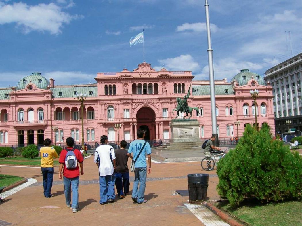 Casa Rosada, na Argentina. Crédito: Arquivo/AG