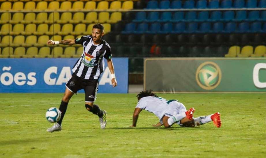 O lateral Paulinho mantém confiança na força do Galo. Crédito: Matheus Cardoso/Atlético Itapemirim