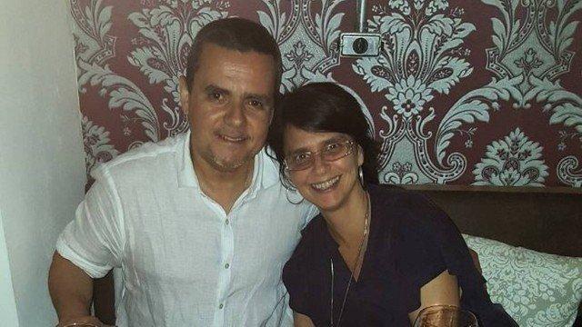 Lídia Brondi e Cássio Gabus Mendes. Crédito: Facebook / @LidiaBrondiOficial