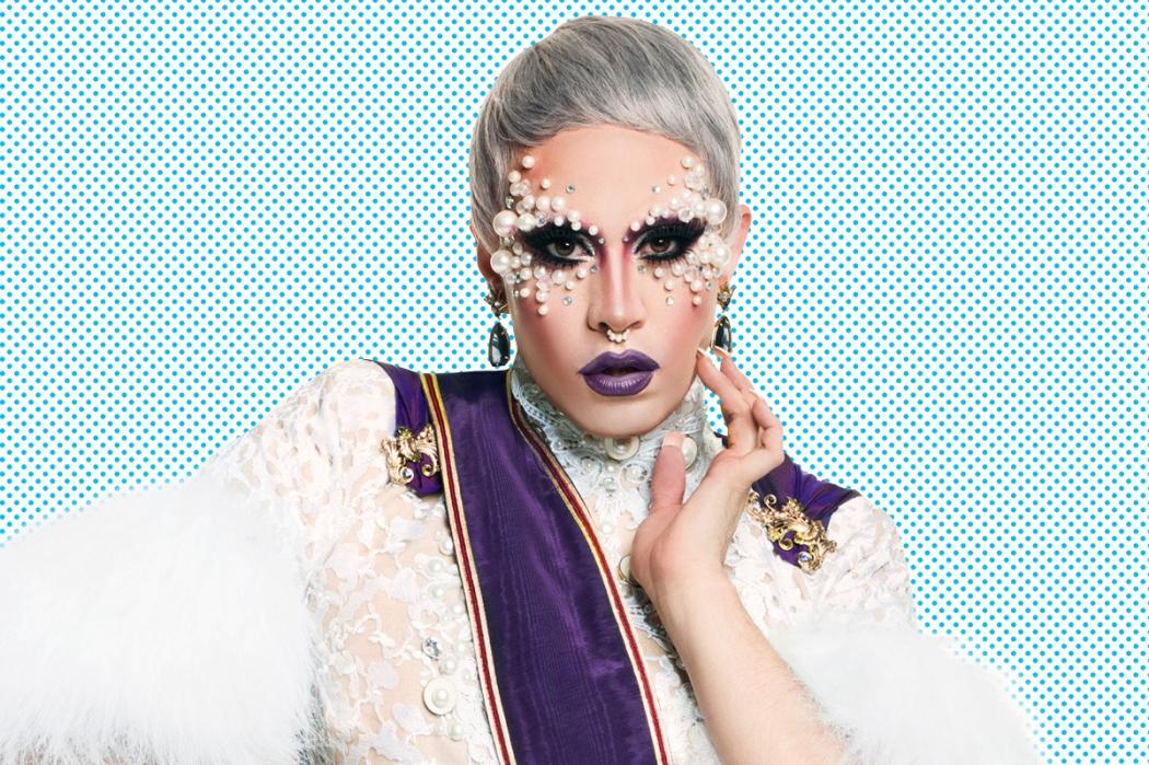 Phi Phi O'Hara, drag queen que participou do reality RuPaul's Drag Race. Crédito: Divulgação