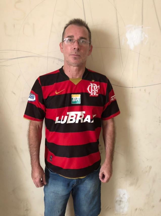 Sérgio Veronez, de 52 anos, foi preso em casa em Vila Velha. Crédito: Divulgação