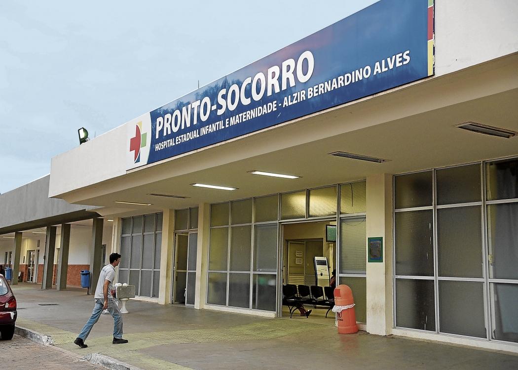 O Himaba, conhecido como Hospital Infantil de Vila Velha, teve a gestão terceirizada no fim de 2017. Contrato será reavaliado. Crédito: Fernando Madeira
