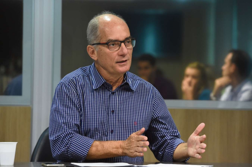 Haroldo Corrêa Rocha, ex-secretário de Estado da Educação do Espírito Santo. Crédito: Fred Loureiro/Secom-ES