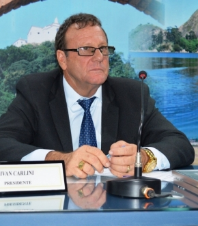 Ivan Carlini está há cinco mandatos no comando da Câmara de Vila Velha