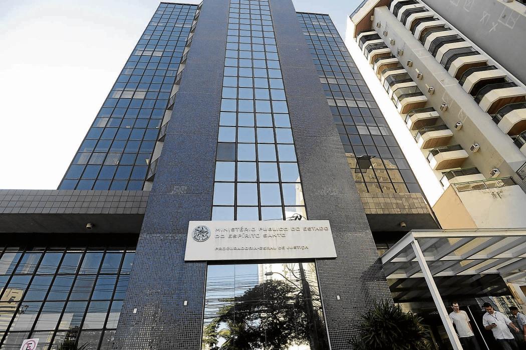 Sede do Ministério Público Estadual, na Enseada do Suá, em Vitória. Crédito: Vitor Jubini