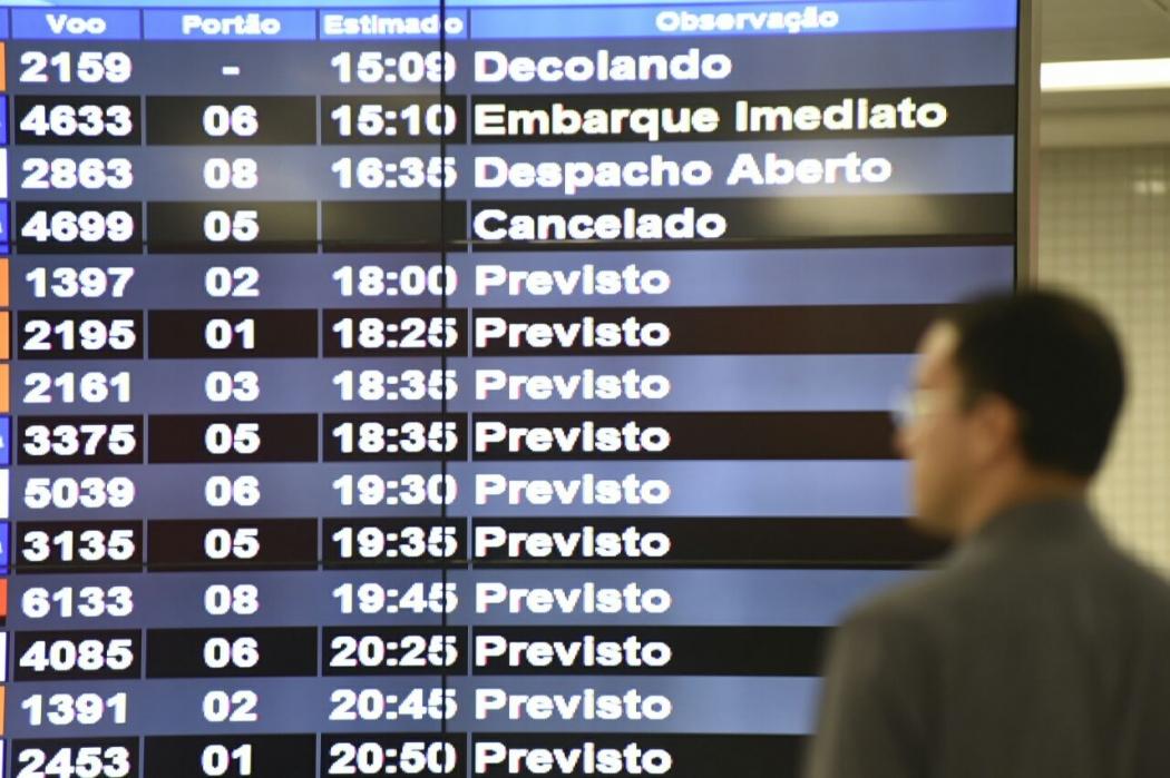 A passagem aérea na Grande Vitória apresentou avanço de 58,39% em julho em relação a junho, segundo o IPCA. Crédito:  Vitor Jubini | Arquivo GZ