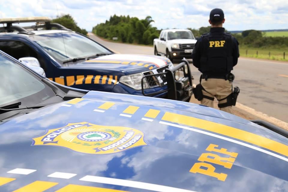 PRF fiscaliza rodovias federais do Espírito Santo. Crédito: Reprodução Facebook/ Polícia Rodoviária Federal (PRF)