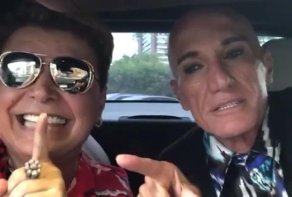 David Brazil e Amin Khader anunciaram que retomaram a amizade após sete anos de briga