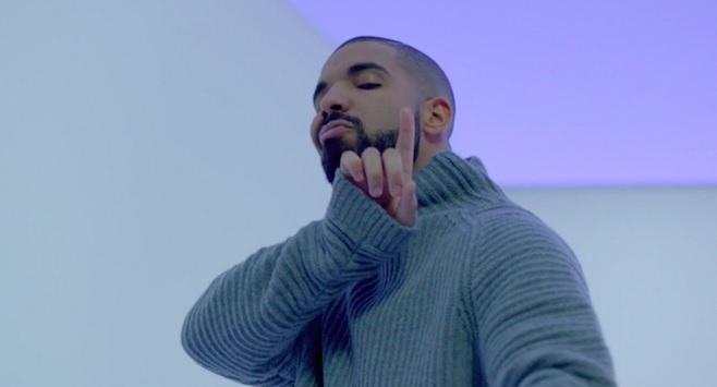 Drake no clipe de Hotline Bling. Crédito: Divulgação