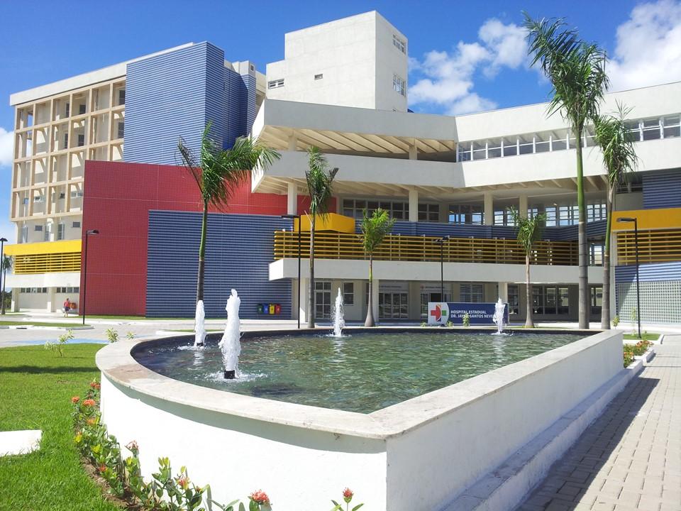 Hospital Estadual Dr. Jayme Santos Neves, na Serra. Crédito: Divulgação / Secretaria de Saúde