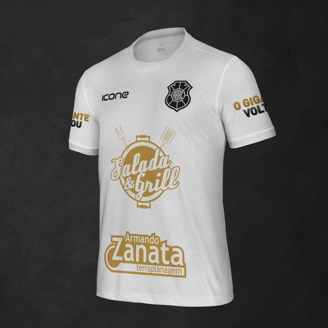 A camisa em comemoração do acesso do Rio Branco. Crédito: Rio Branco/Divulgação