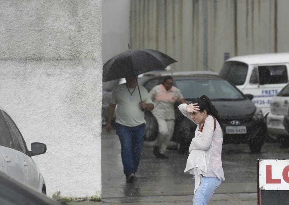 Institutos emitiram novo alerta de chuva para o Espírito Santo nesta quarta-feira (26). Crédito: Vitor Jubini