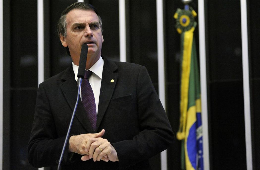 Jair Bolsonaro (PSL-RJ), deputado e pré-candidato à República. Crédito: Alex Ferreira/Câmara dos Deputados