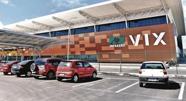 Aeroporto de Vitória: concessão prevê aumento da estrutura do terminal. Crédito: Fernando Madeira