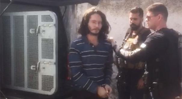 Hamison dos Santos Nins foi preso na manhã desta terça