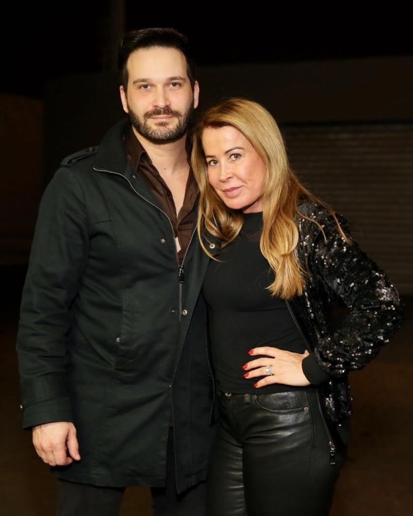 Zilu Camargo e o namorado, Marco Ruggiero