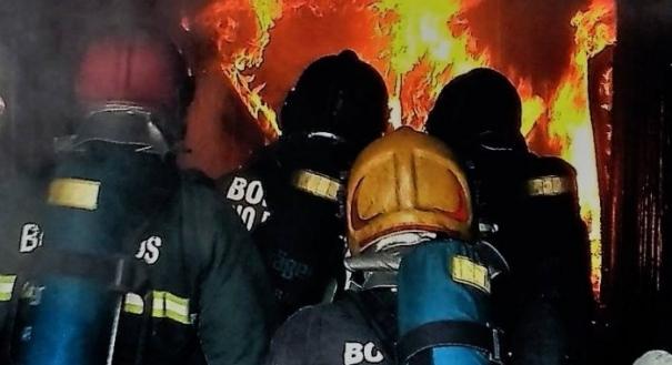Treinamento do Corpo de Bombeiros do Espírito Santo