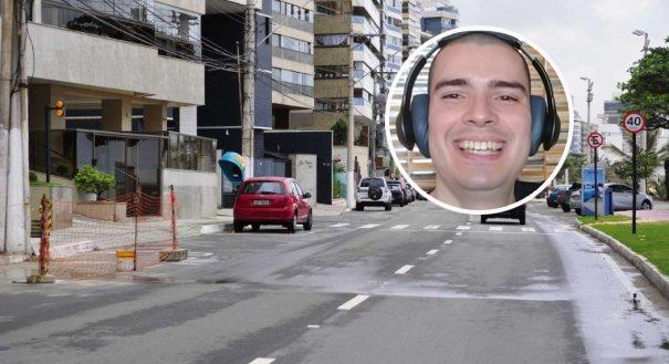 Fabio Mengali ficou paraplégico após ser atropelado, enquanto pedalava na orla da Praia da Costa, em Vila Velha, por um motorista embriagado. Crédito: Guilherme Ferrari/Arquivo