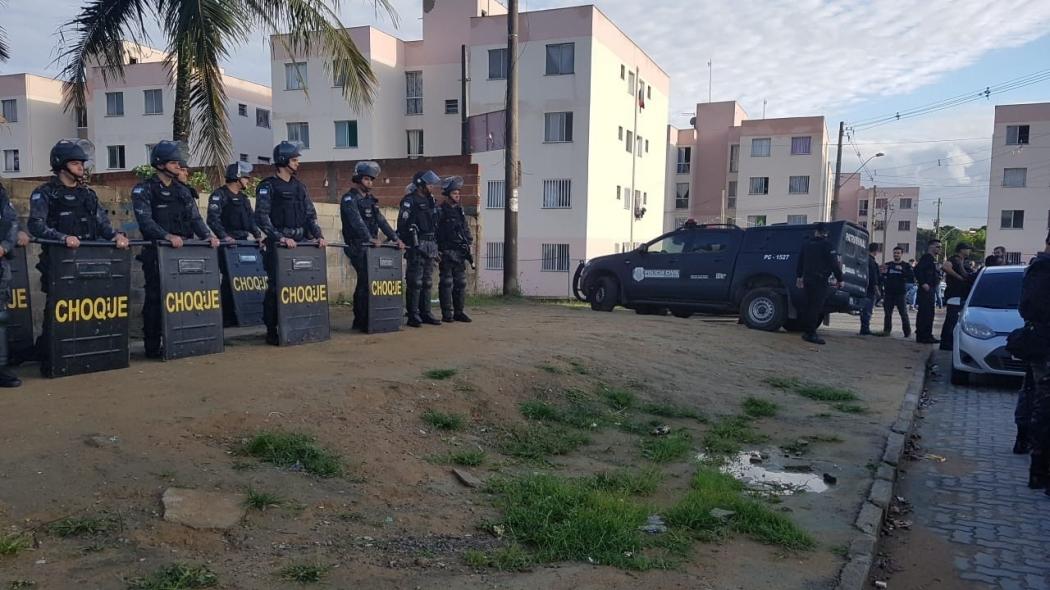 Uma das operações realizadas pelas polícias Civil e Militar dentro de Ourimar. Crédito: Caíque Verli