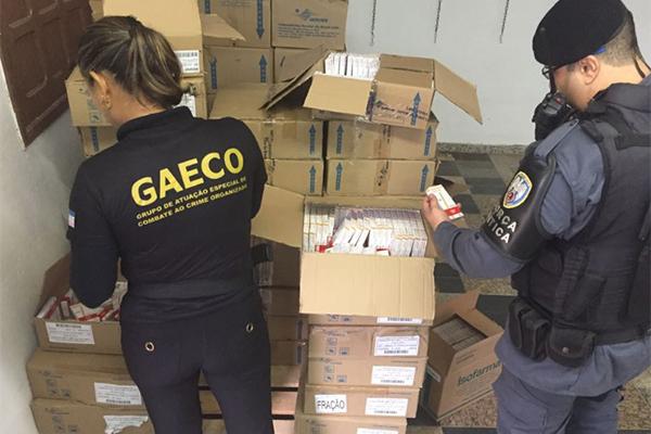 Operação investiga possíveis crimes envolvendo medicamentos. Crédito: Divulgação/MPES