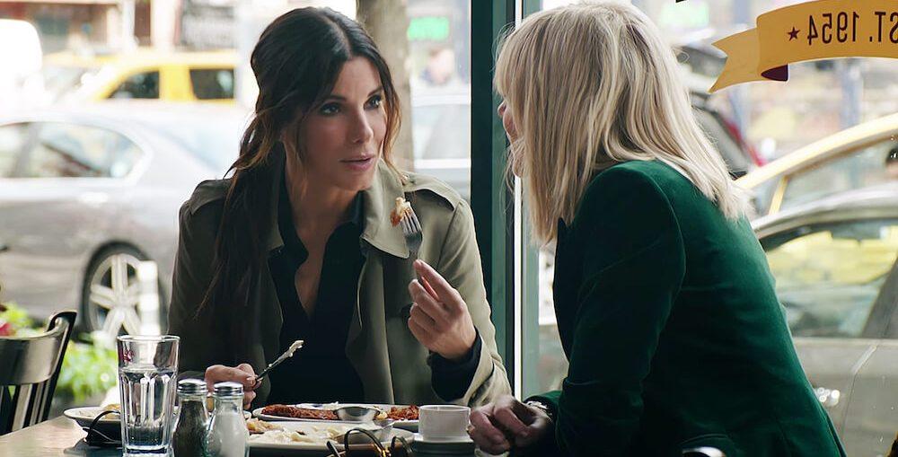 21/06/2018 - Sandra Bullock no filme 'Oito Mulheres e Um Segredo'. Crédito: Divulgação