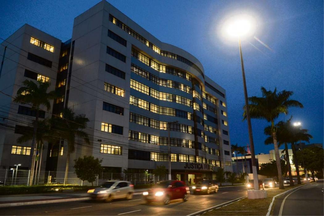 Prédio da Justiça Federal em Vitória. Crédito: Carlos Alberto Silva