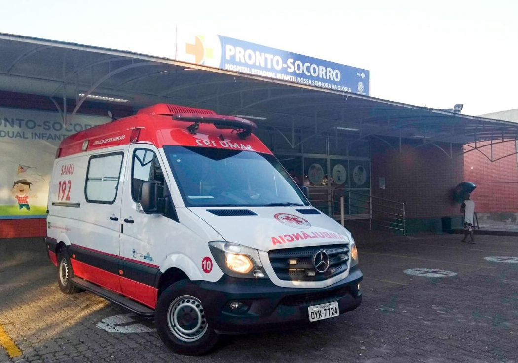 Pronto Socorro do Hospital Infantil de Vitória. Crédito: Fernando Madeira