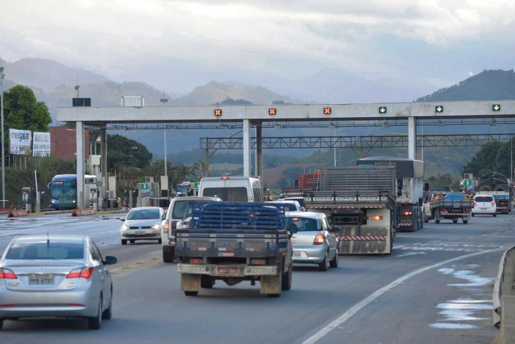 Pedágio da Eco101, na Serra, também terá redução. Crédito: Edson Chagas/Arquivo