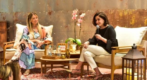 Glória Kalil debateu temas importantes sobre o cenário da moda atual