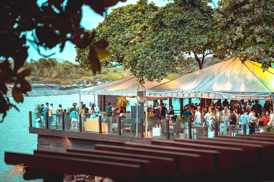 Mokai Restaurante no Clube Ítalo Brasileiro na Ilha do Boi. Crédito: Facebook/MokaiVitória