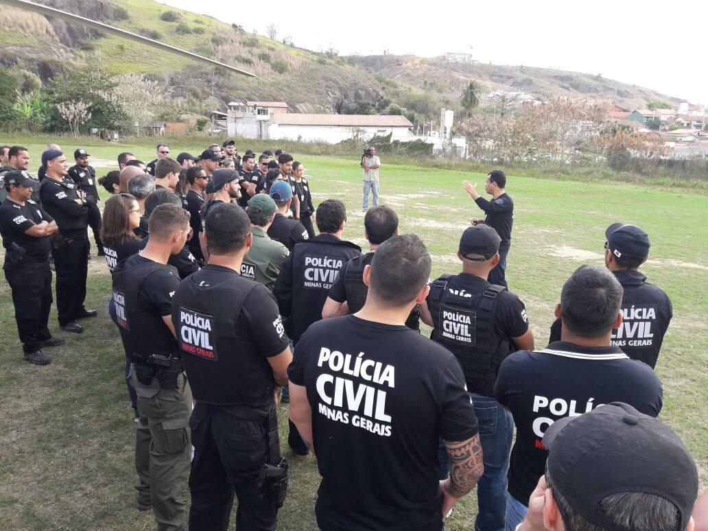 Polícia Civil de Minas Gerais. Crédito: Facebook PC-MG