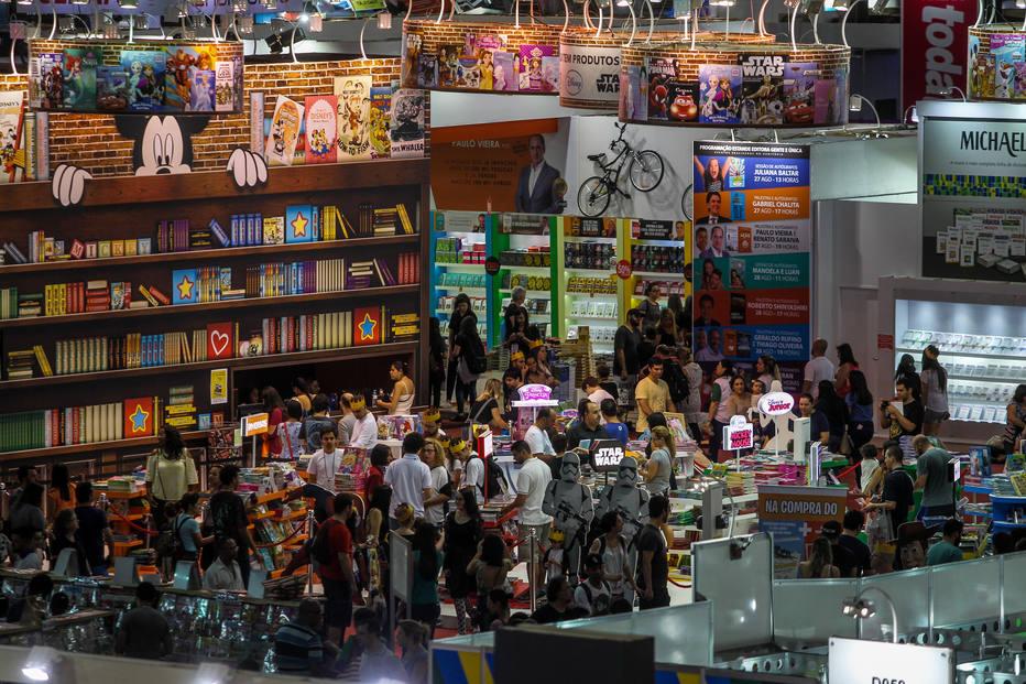 24 Bienal Internacional do Livro de Sao Paulo no Anhembi, em 2016. Crédito: Rafael Arbex