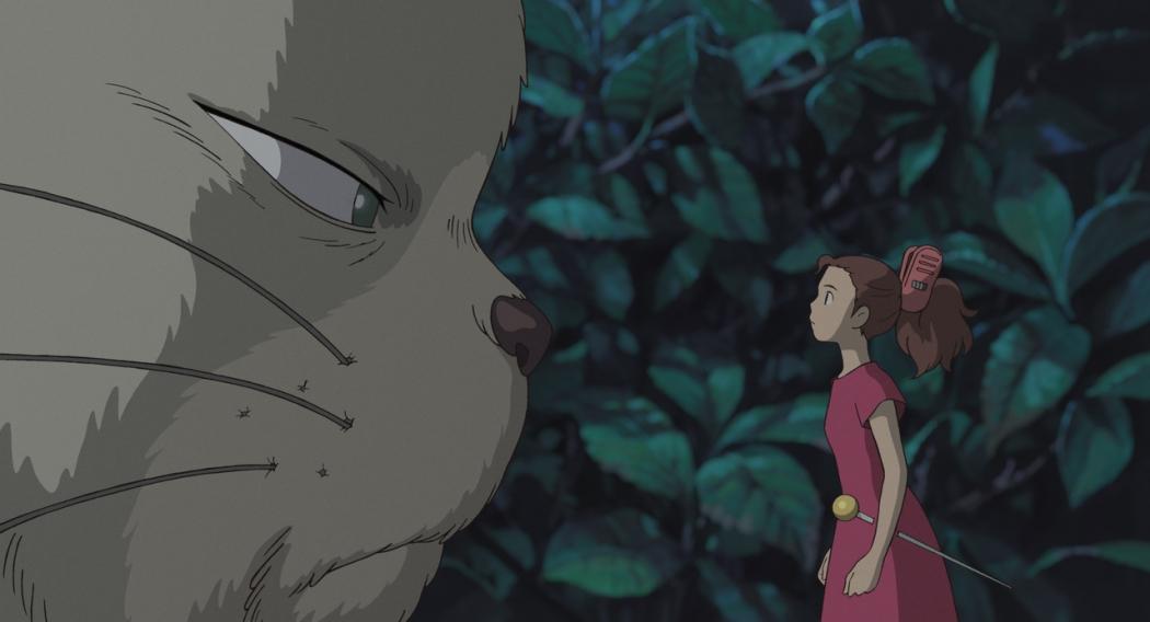 O Mundo dos Pequeninhos. Crédito: Studio Ghibli