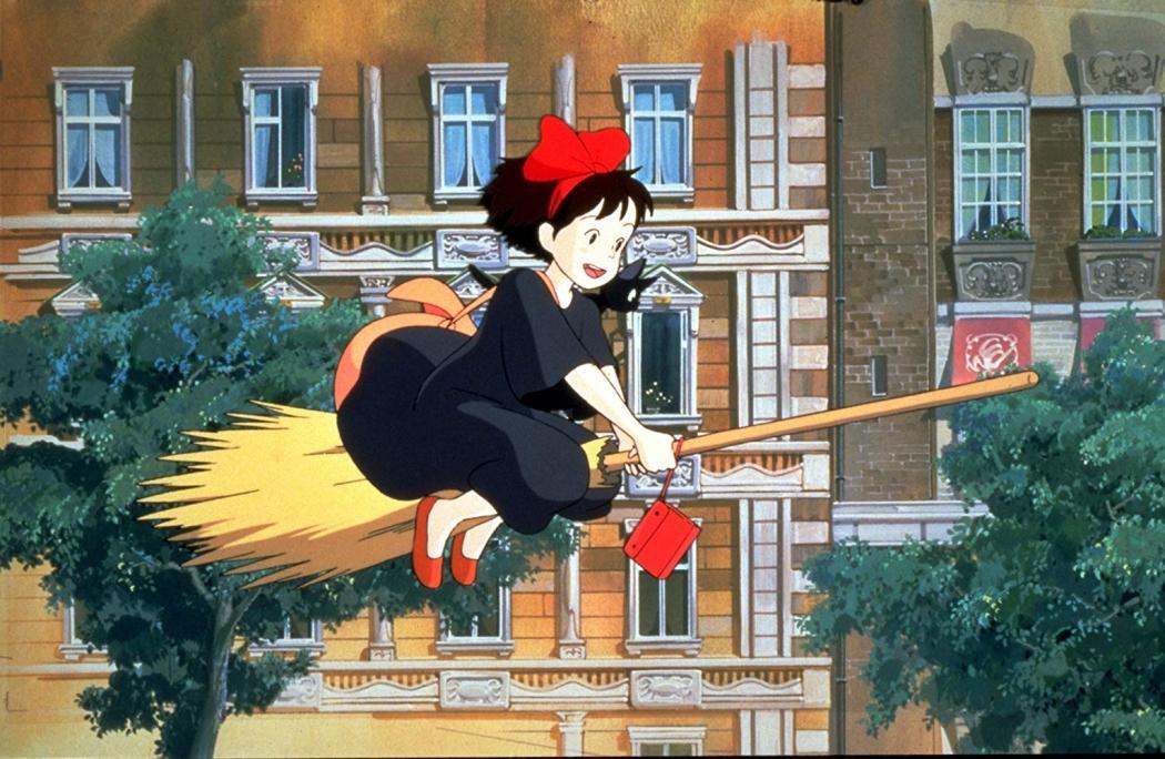 O Serviço de Entregas da Kiki. Crédito: Studio Ghibli