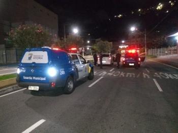 Um Fox, com restrição de furto ou roubo, foi o 29º veículo recuperado com o auxílio do Cerco Inteligente de Segurança da Prefeitura de Vitória. Crédito: Guarda Municipal de Vitória/Divulgação