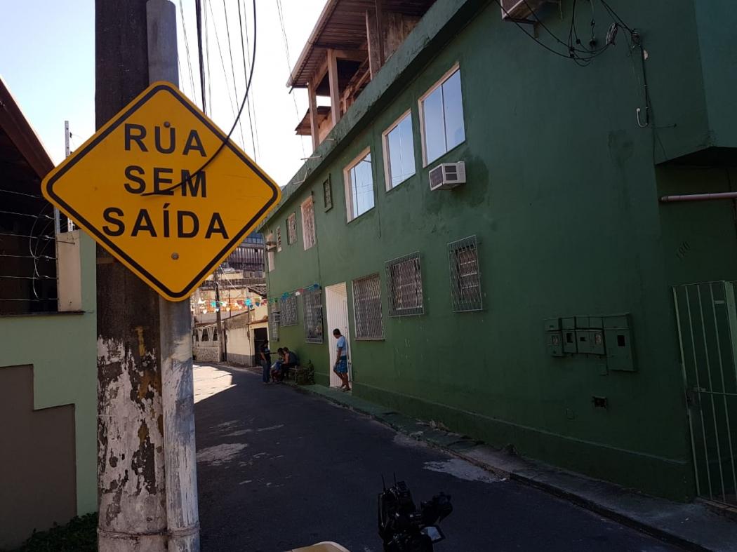 Local onde houve homem foi baleado durante tentativa de assalto na Praia do Suá, em Vitória. Crédito: Bernardo Coutinho