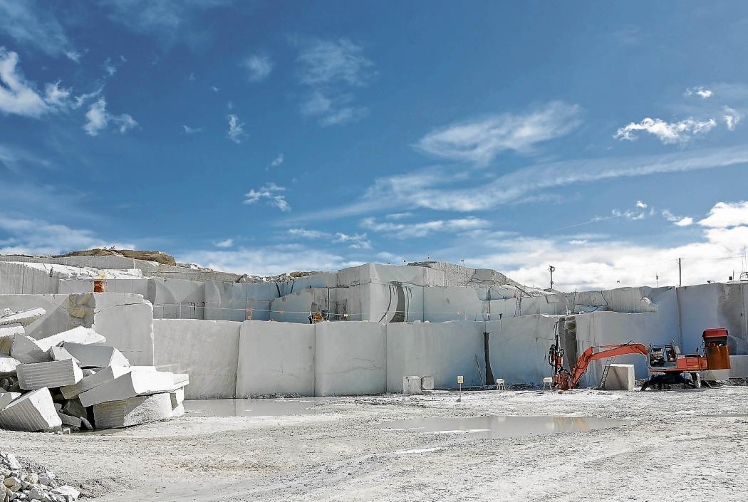 Setor de rochas ornamentais e manteve seu posto de principal estado exportador em 2018. Crédito: Marcelo prest/arquivo