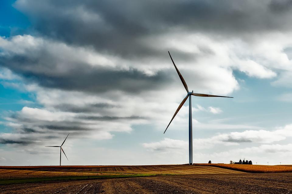 Energia eólica. Crédito: Reprodução/Pixabay