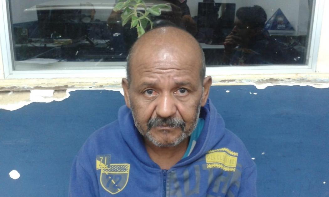 Reginaldo dos Anjos de Jesus tinha um mandado de prisão preventiva em aberto por um homicídio qualificado. Crédito: Divulgação/PM