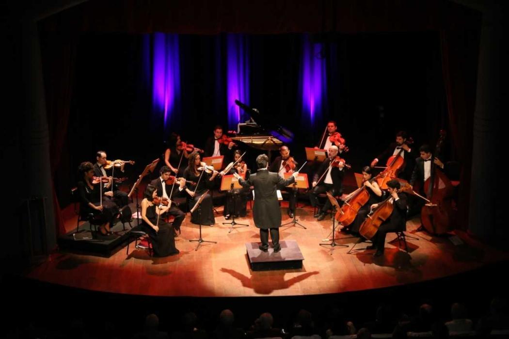 Orquestra Camerata Sesi vai se apresentar durante cinco dias seguidos. Crédito: Thiago Guimarães/Divulgação