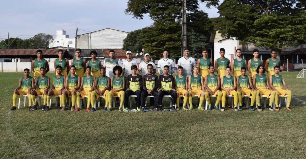O elenco do Porto Vitória vai disputar a Taça BH. Crédito: Divulgação