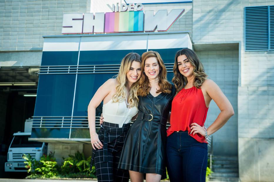 16/07/2018 -  Sophia Abrahão, Vivian Amorim e Fernanda Keulla são as novas apresentadoras do Vídeo Show. Crédito: Globo/ Raquel Cunha