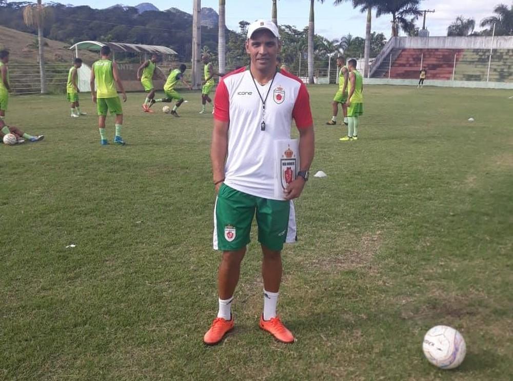 Gilmar Estevam é o novo técnico do Real Noroeste. Crédito: Acervo pessoal