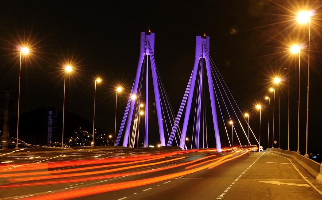 A Ponte da Passagem, em Vitória. Crédito: Arquivo/AGAZETA