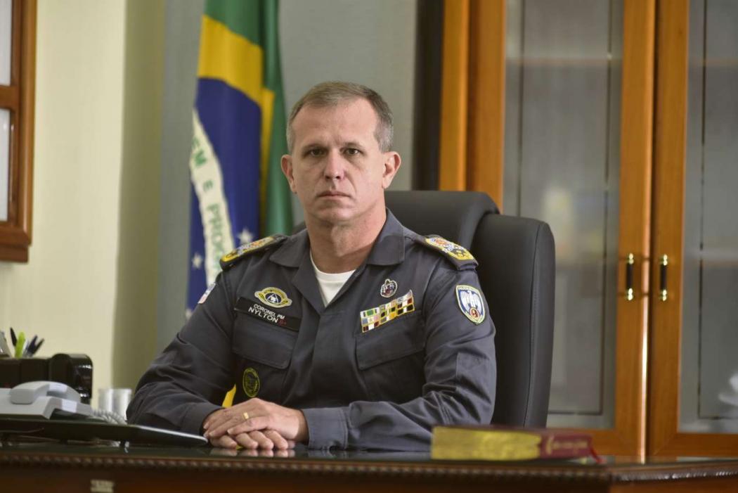 Nylton Rodrigues coronel da Polícia Militar do ES. Crédito: Marcelo Prest