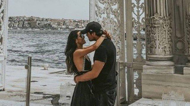 Olin Batista e Maria Eduarda na Turquia. Crédito: Reprodução/Instagram