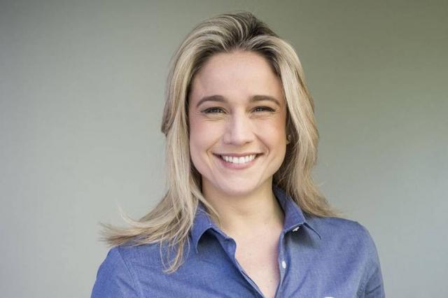 Fernanda Gentil, apresentadora da TV Globo. Crédito: João Cotta/ TV Globo