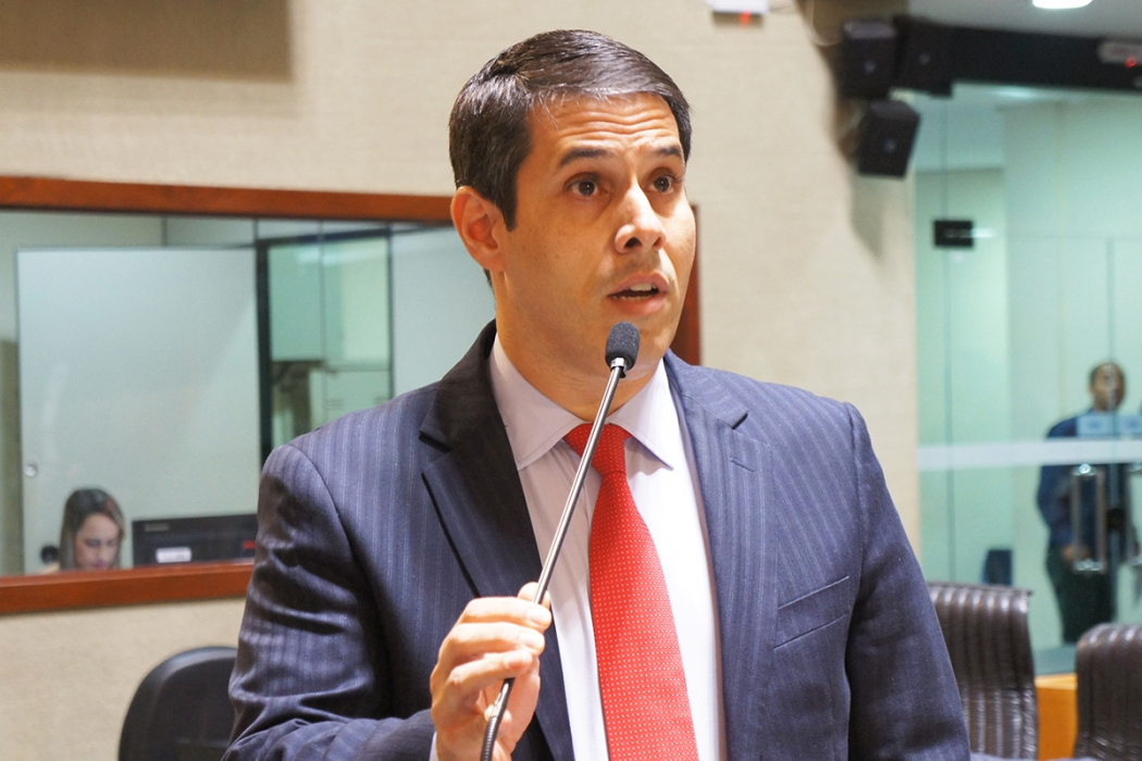 O apresentador Amaro Neto foi eleito deputado federal com 181.813 votos. Crédito: Lissa de Paula/Ales